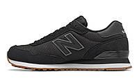 New Balance 515 ML515HRB Оригинальные черные мужские кроссовки, фото 1