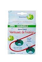 Комплект присосок для крепления грунтового термокабеля DENNERLE 8-100Вт, 12шт.