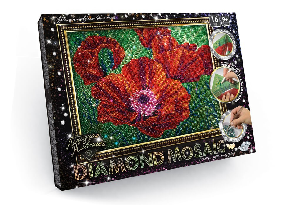 Алмазная живопись Diamond Mosaic (DM-02-04)