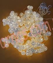 Светодиодная гирлянда штора-шарик (14-1)