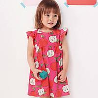 Платье для девочки Красное яблоко Jumping Meters (4 года)