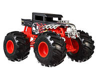 Hot Wheels Monster Truck Bone Shakler GCX15 1:24 Монстер Трак Монстер Джем Monster Jam Mattel