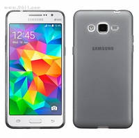 Чехол силиконовый для Samsung Galaxy Grand Prime (G530/G531) Dark Grey