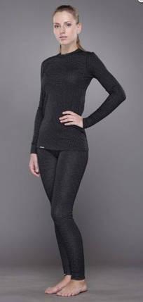 Женская футболка TRUL-014T-black-L Soft Winter с длинным рукавом Black, фото 2