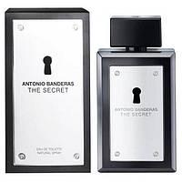 Antonio Banderas The Secret Туалетная вода 100 ml Духи Антонио Бандерас Сикрет Секрет Серый Мужской 100 мл