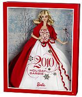 Кукла Барби коллекционная Праздничная 2010 ( 2010 Holiday Barbie Doll), фото 3