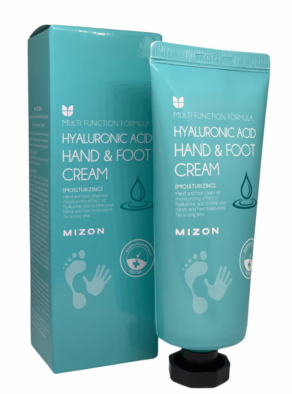 Крем для рук і ніг з гіалуроновою кислотою Mizon Hyaluronic Acid Hand And Foot cream