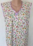 Ночная рубашка без рукава 60 размер Лето, фото 5
