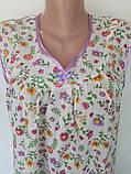 Ночная рубашка без рукава 60 размер Лето, фото 6