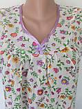 Ночная рубашка без рукава 60 размер Лето, фото 9