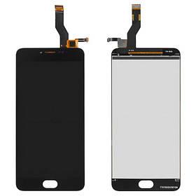 Дисплей (экран) для Meizu M3 Note (L681H) с сенсором (тачскрином) черный Оригинал