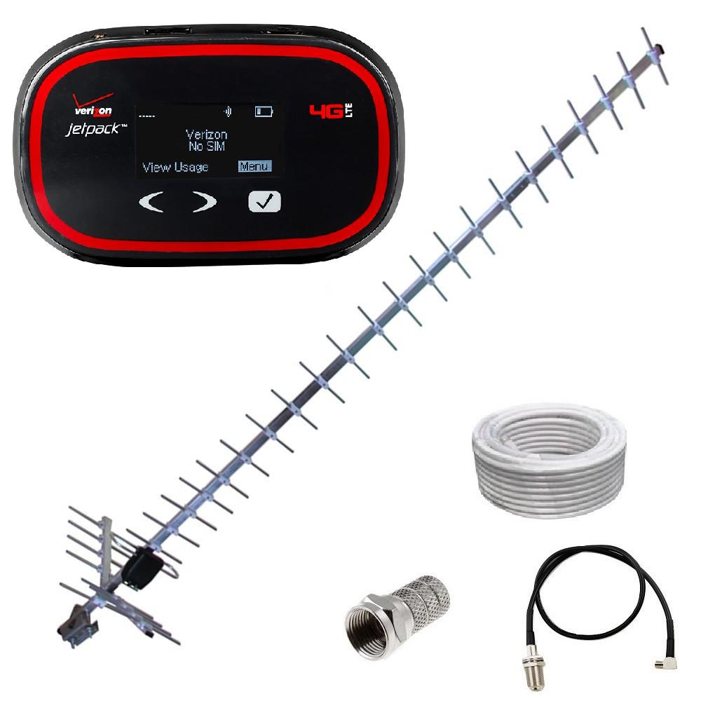 WiFi роутер 3G Novatel MiFi 5510L + антенна 24 дБи + переходник + кабель
