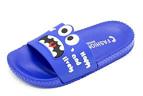 Шлепанцы Plazzo 32 20 см Синий 3049-22 d-blue 32 20 см, КОД: 1706227