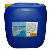 Химия для бассейна Fresh Pool Жидкий хлор 30л