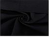 Спортивні брюки з накладними кишенями на манжеті-резинці трехнитка на флісі колір чорний, фото 4