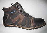 Мужские зимние ботинки баталы р 47