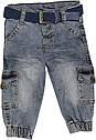 Дитячий демісезонний костюм зростання 74 6-9 міс трикотажний зелений костюмчик на хлопчика комплект з джинсами, фото 7