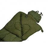 Cпальный мешок Mil-tec Pilot Olive (185х75 см) 14101001, фото 3