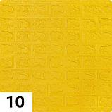 Самоклеющаяся декоративная 3D панель Кирпич Желтый 700x770x5мм (10 шт) Os-BG10-5, фото 2