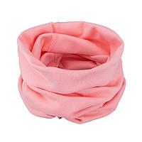 Шарф, снуд трикотажный детский TuTu арт.3-004067 (45*26 см) Розовый