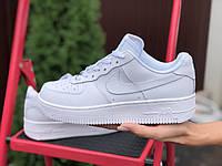 Жіночі кросівки Nike Air Force білі для підлітків у стилі Найк 38