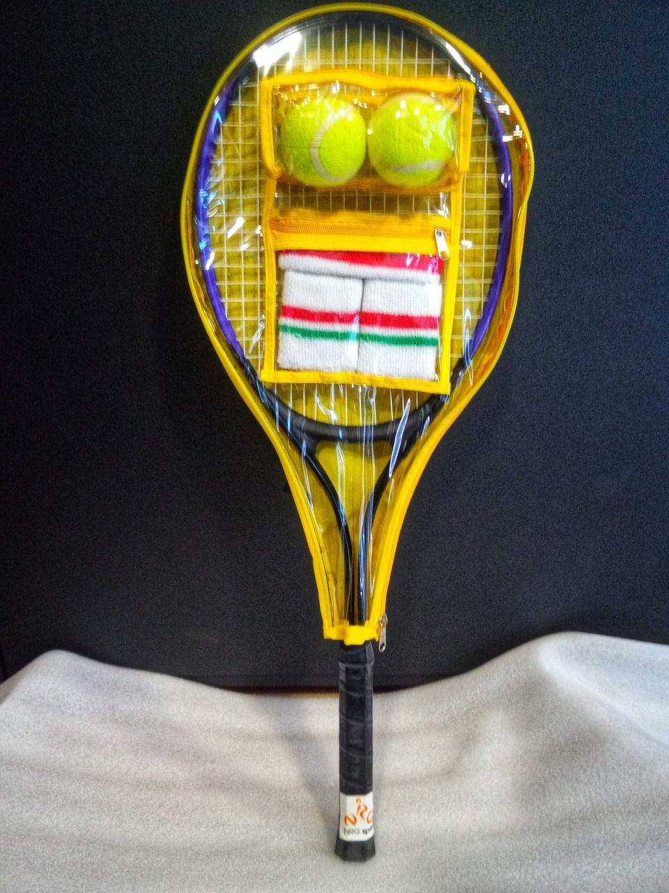 Ракетка для великого тенісу, недорога тенісна ракетка 70 см