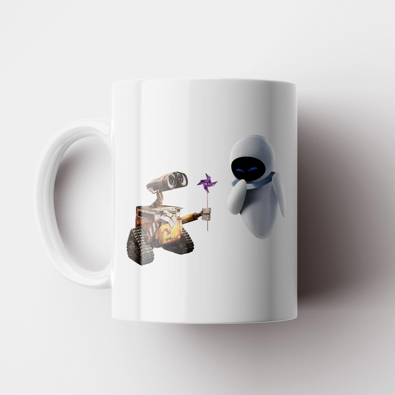 Чашка ВАЛЛ-И. Валли. Wall-E. Кружка с фото