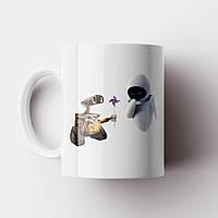 Чашка ВАЛЛ-И. Валли. Wall-E. Кружка с фото, фото 1