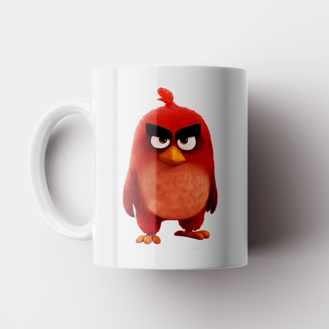 Чашка Angry Birds. Кружка с фото