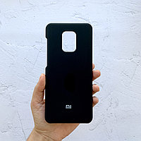 Чехол на Xiaomi Redmi Note 9 Pro Silicone Case черный силиконовый / для сяоми редми нот 9 про, ксяоми ноут