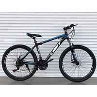 Горный одноподвесный велосипед 26 дюймов Toprider 800 синий