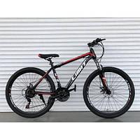 Горный одноподвесный велосипед 26 дюймов Toprider 800 красный