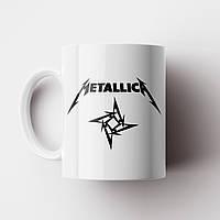 Чашка Metallica. Металіка. Музика. Metal. Метал. Чашка з фото, фото 1