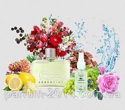 Чоловічий парфум Lacoste Essential 68 мл (осіб.) парфуми аромат запах
