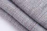 Чоловічий теплий шарф - Сірий, фото 6