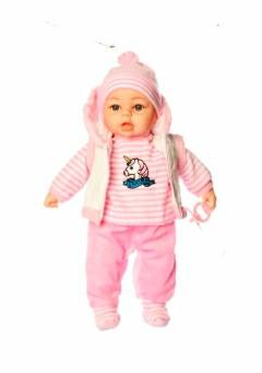 Кукла-пупс мягконабивная говорящая M 3861 UA , 45 см