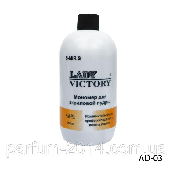 Мономер Lady Victory AD-03 - 236 мл, среднее время затвердевания,