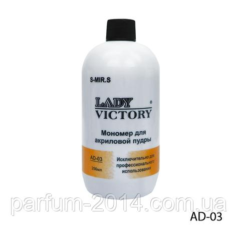 Мономер Lady Victory AD-03 - 236 мл, среднее время затвердевания, , фото 2