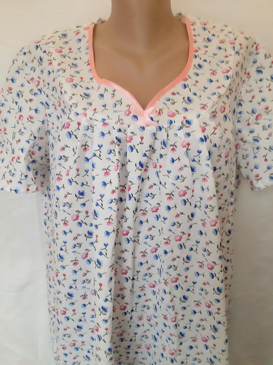 Ночная рубашка с коротким рукавом 62 Семечки