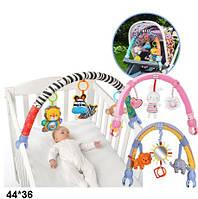 Брязкальце на дитячий візок/ліжко, підвіси 3шт. T-0235