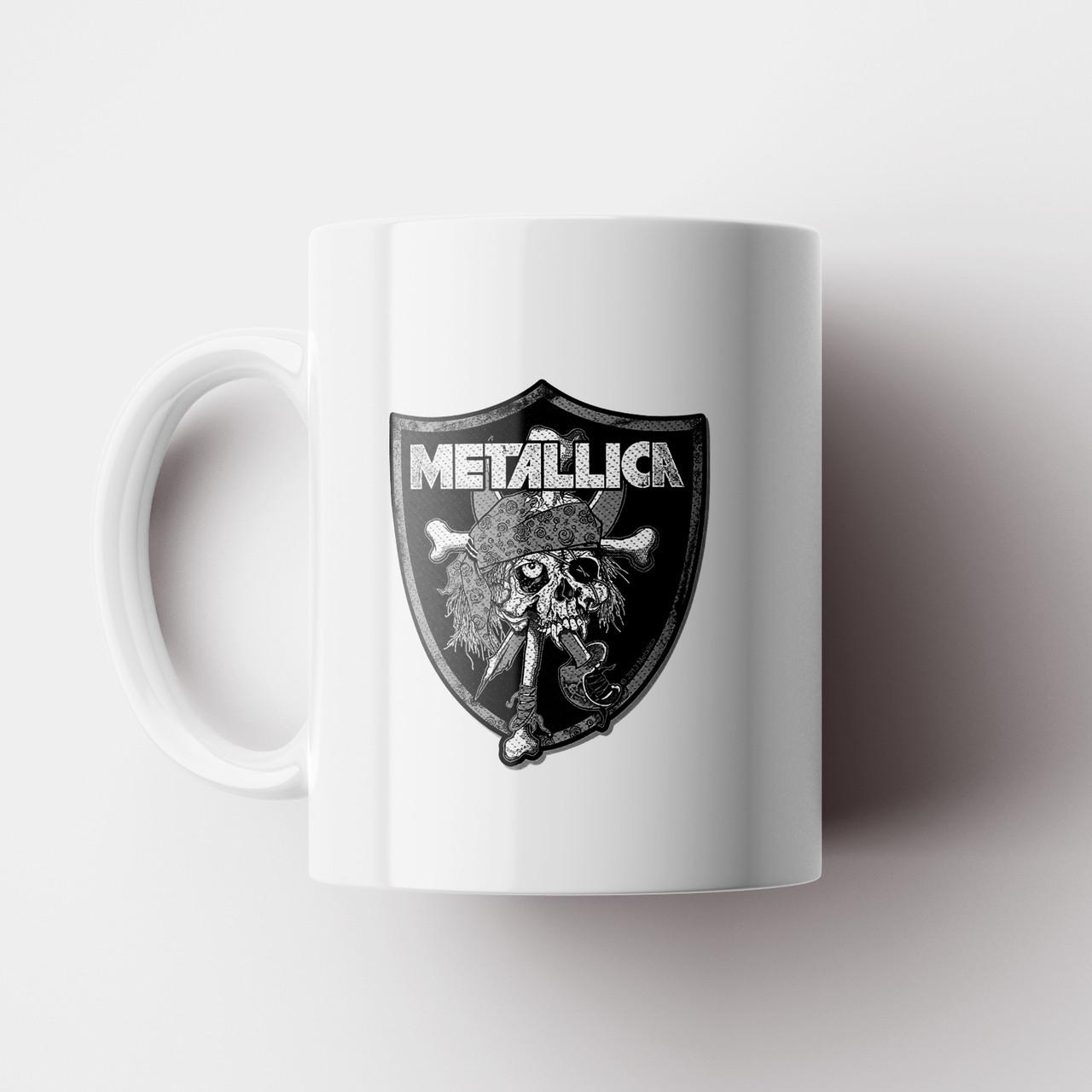 Чашка Metallica. Металлика. Музыка. Metal. Метал. Чашка с фото