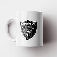 Чашка Metallica. Металлика. Музыка. Metal. Метал. Чашка с фото, фото 1