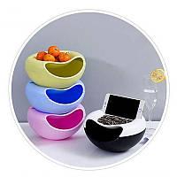 Миска для семечек с подставкой для телефона Memos