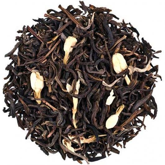 Чай зеленый Китайский жасминовый Молихуа крупно листовой Tea Star 100 гр Китай