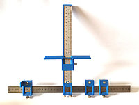 Мебельный кондуктор. Шаблон для сверления отверстий под ручки/фурнитуру 5мм