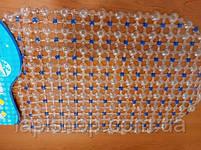 Коврик для ванной антискользящий цветной 62*35 см, фото 4