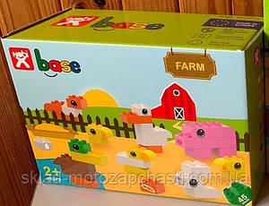 Конструктор-кубики Nobi Farm mediom 45 деталей