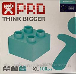 Конструктор кубики NOBI PRO XL 100XL деталей бирюза