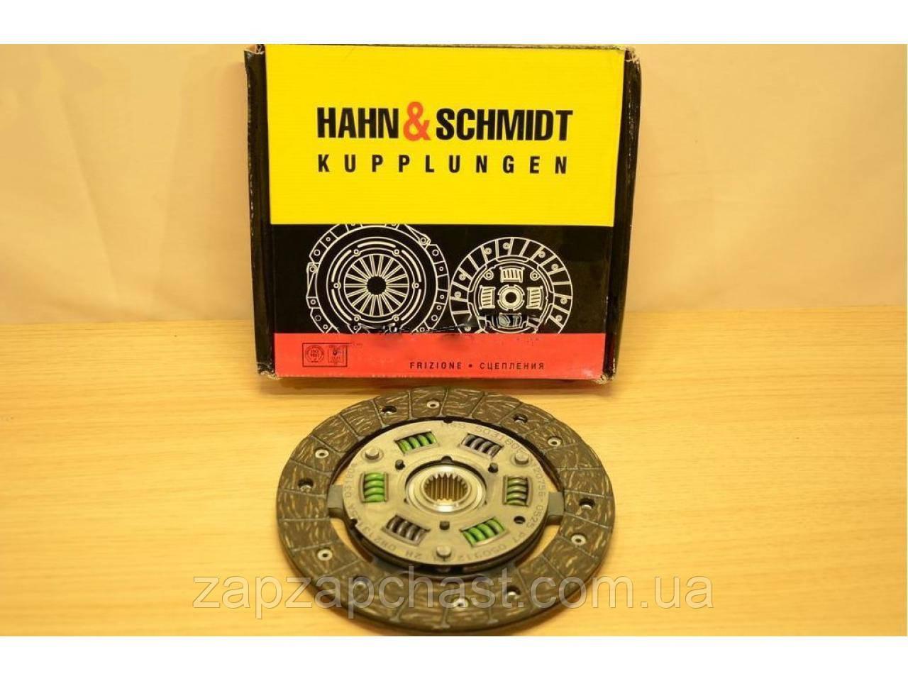 Диск сцепления заз 1102 1103 таврия славута сенс HAHN&SCHMIDT оригинал (S03180Е)