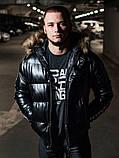 Мужская зимняя куртка Philipp Plein, чоловічий зимовий пуховик Philipp Plein, зимняя куртка Филипп Плейн, фото 2